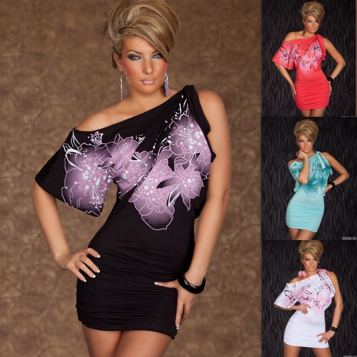 Dámske štýlové mini šaty