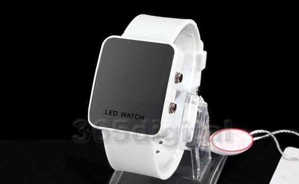Unisex silikonové štýlové LED digitálne hodinky 1420e1f9341