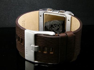 Diesel hnedé kožené hodinky DZ7071
